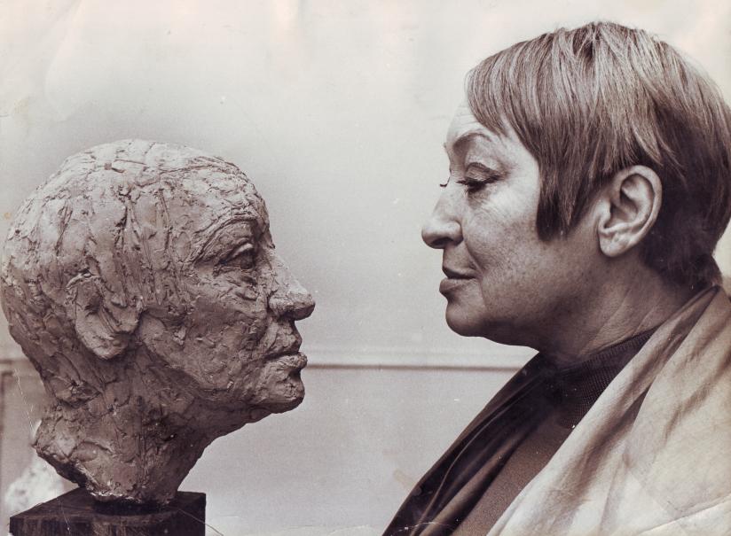 rolf_nerlov_skulptur_gudrun_brost_portratt